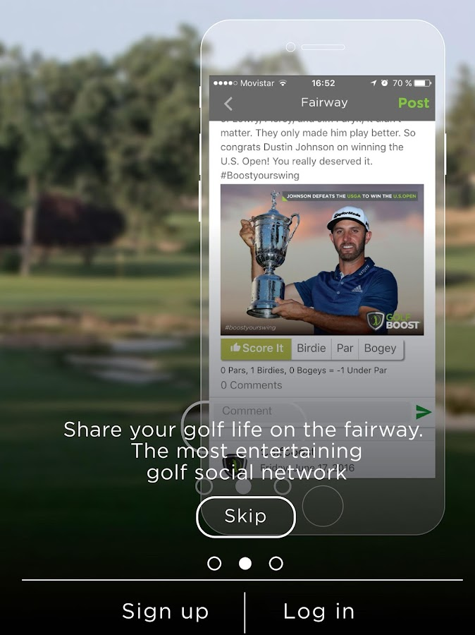 Golf Boost by Jim McLean- screenshot