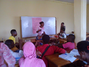 Photo: 4.12.15 Women for a Change - Cameroon youth workshop