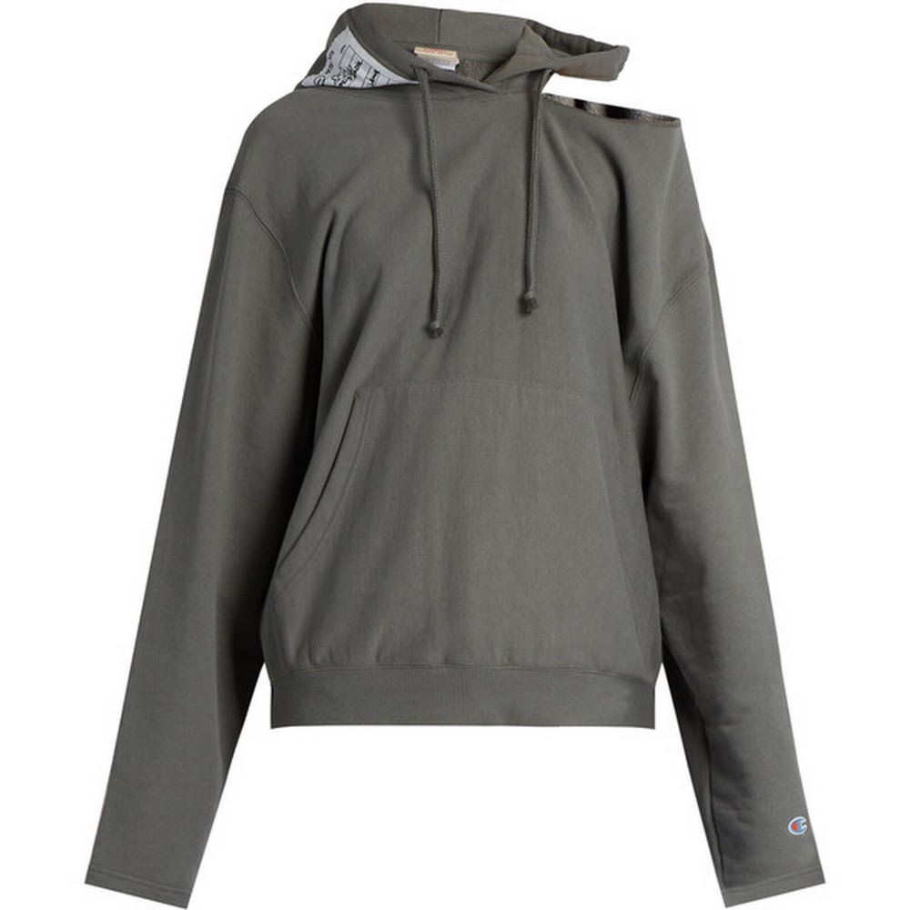 GRY VT CHMP HOODIE
