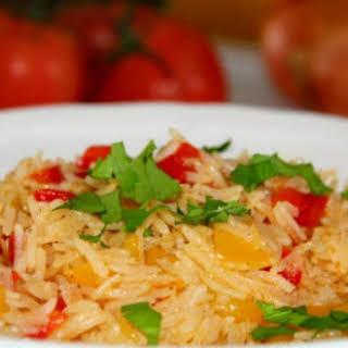 Portuguese Nandos Rice.