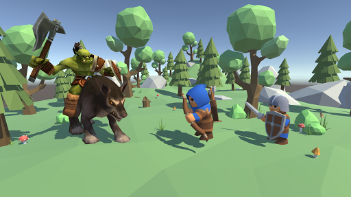 Low Poly Medieval Kingdom APK MOD (Astuce) screenshots 1