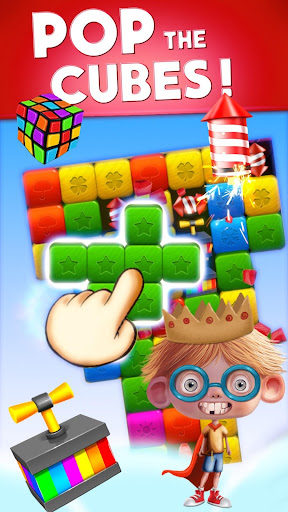 Toy Box Crazy Story - toys drop cubes - screenshot