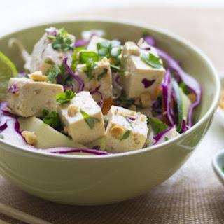 Raw Pad Thai Bowl With Tofu [Vegan, Gluten-Free].