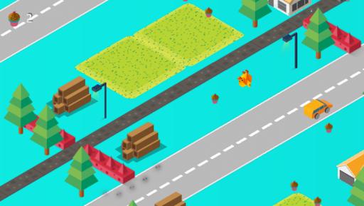 Télécharger Crossy Road: Animaux mignons mod apk screenshots 1