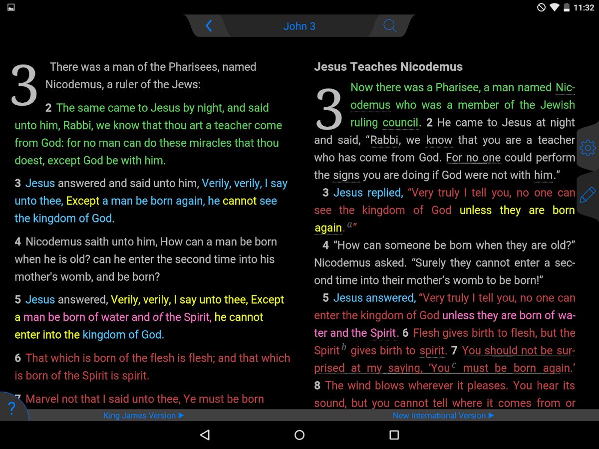 Message Bible- screenshot