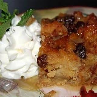 Gramma's Apple Bread Pudding.