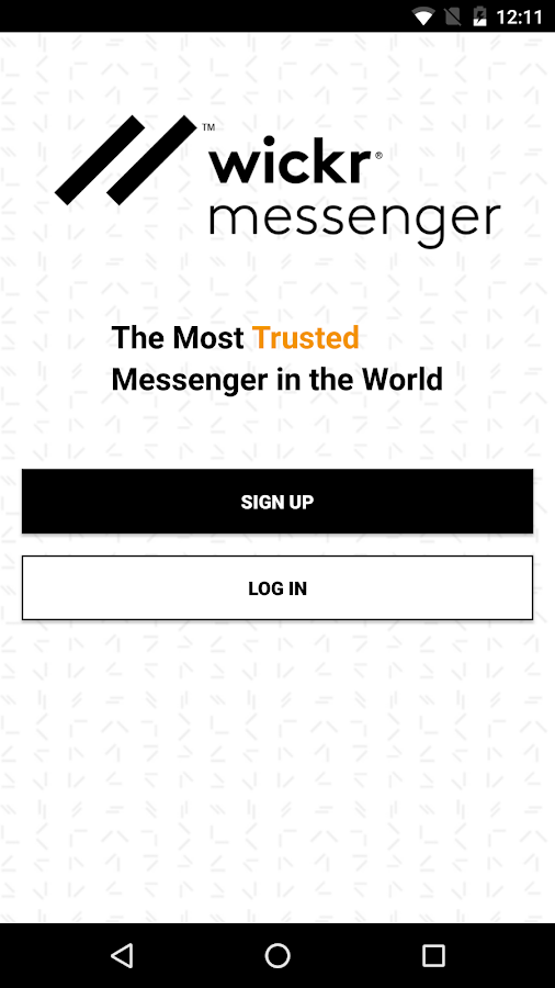 Wickr Me - Secure Messenger- screenshot