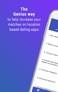 Dating Apps Genius - Using science for matches- screenshot thumbnail