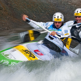 Kayak by Bostjan Pulko - Sports & Fitness Other Sports ( tacen, kayak, white water )