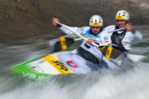 Kayak by Bostjan Pulko - Sports & Fitness Other Sports ( tacen, kayak, white water )