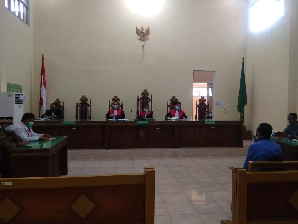 Kasus Sengketa Pilkakon Pekon Wonosari Kabupaten Pringsewu Kembali Gelar Sidang PN Kotaagung