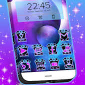 GO Launcher Lasers Theme