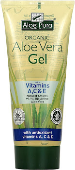 Aloe Pura Aloe Vera Gel with Antioxidant Vitamins A, C & E - 200ml