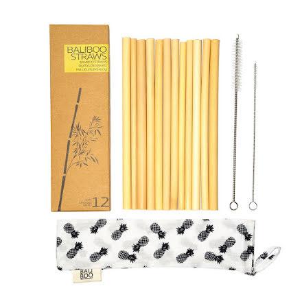 Sugrör i eko bambu