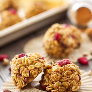 Healthy No Bake Pumpkin Cookies