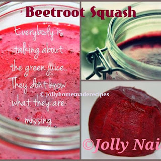 Beetroot Squash Recipe, Squash