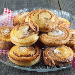 Swedish Cinnamon Bullar.