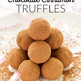 Easy Chocolate Cinnamon Truffles