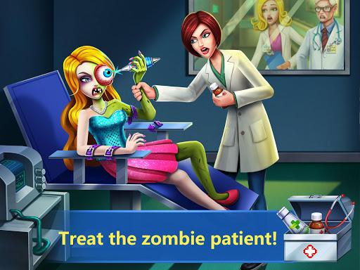 ER Hospital 4 - Zombie Eyes Doctor Surgery Game 1.1 Mod screenshots 1