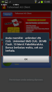 Telkomsel AS Client screenshot 4