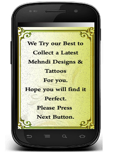 Mehandi Tattoo Design 2015