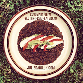 Rosemary Olive Gluten-Free Flatbread