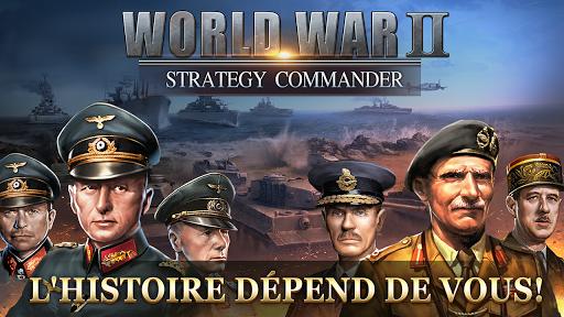 Code Triche WW2: Strategy Commander Conquer Frontline APK MOD screenshots 1