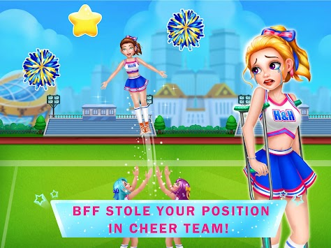 Cheerleaders Revenge 3 - Breakup Girl Story Games apk screenshot