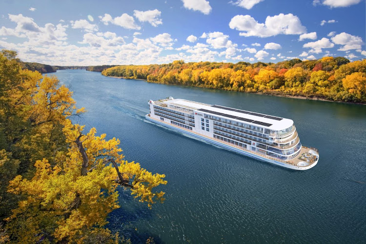 Sleek, Scandinavia-style riverboat to cruise the Mississippi