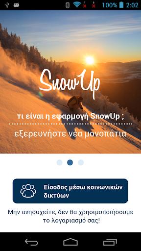 SnowUp SkiResort Human network