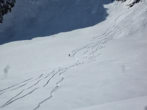 Photo: Sur le glacier des Malatres