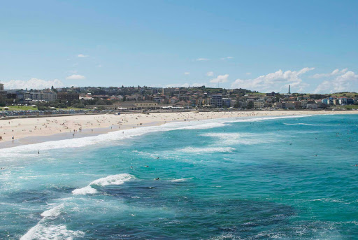 Bondi-Beach-Sydney - World-famous Bondi Beach in Sydney.