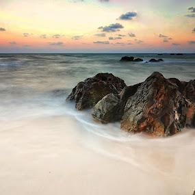 Pantai Keramat Manggar by ANdi Khoebill - Landscapes Waterscapes