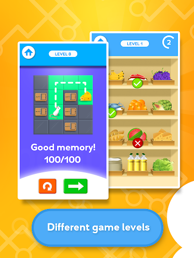 Train your Brain - Memory Games apktram screenshots 2