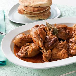 Creamy Chicken Korma with Almonds Recipe
