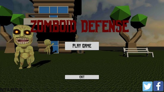 Zomboid Defense Screenshot