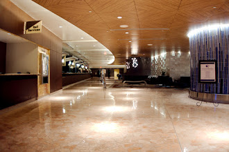 Photo: Contemporary Hotel lobby 4:30 am