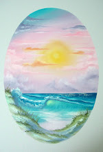 "Photo: 2211 Pastel Seascape. Oil on canvas. Frame: no. Price: 18"" x 24"" $229.00"