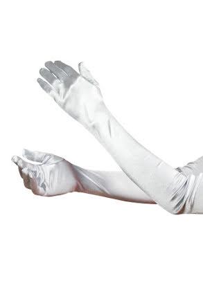 Handskar, grå/silver