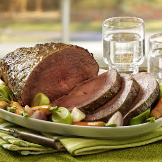 Blade Roast Beef with Root Vegetables.