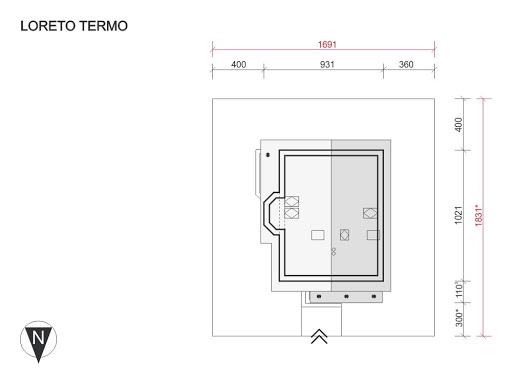 Loreto Termo - Sytuacja
