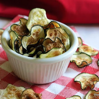 Zucchini Chips in the Microwave or Oven.