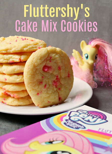 Fluttershy's Cake Mix Cookies! Perfect treat to enjoy while watching My Little Pony Friendship is Magic: Fluttershy on DVD