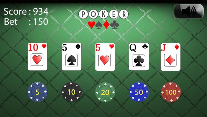 Blackjack aj Poker- screenshot