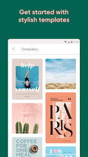 App Over: Add Text to Photos & Graphic Design Maker APK for Windows Phone