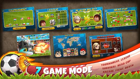 Head Soccer Mod Apk 6.13.1 (Unlimited Money) 8