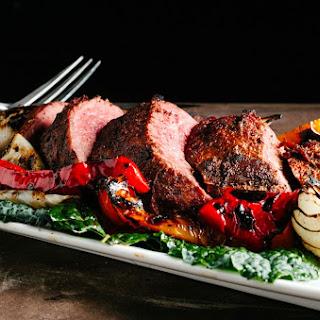 Grilled Bison Tri-Tip, Santa Maria Style