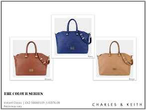 Photo: Have you heard it? THE COLOUR SERIES is here! They said this contemporary piece promises to be an instant classic.  Minimalist chic best describes this handbag, which colour would you talk about – Brown, Navy or Beige?