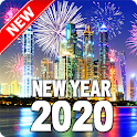 Happy New Year 2020 icon