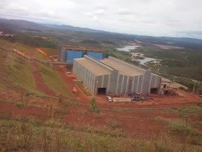 Photo: Estação de beneficiamento Mina em Conceição de Mato Dentro, MG - início do mineroduto